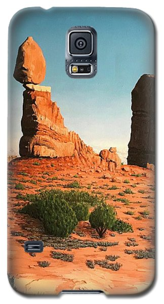 Balanced Rock At Arches National Park Galaxy S5 Case
