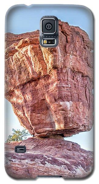 Balanced Rock In Garden Of The Gods, Colorado Springs Galaxy S5 Case