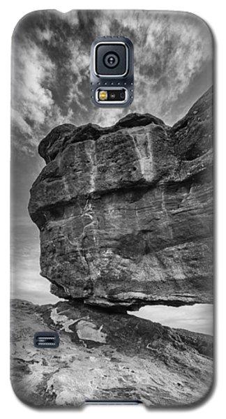 Balanced Rock Monochrome Galaxy S5 Case