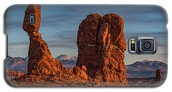 Balanced Rock Sunset Galaxy S5 Case