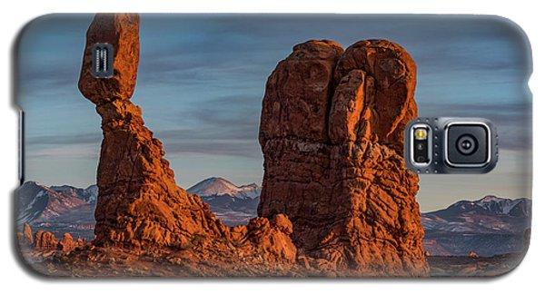 Balanced Rock Sunset Galaxy S5 Case