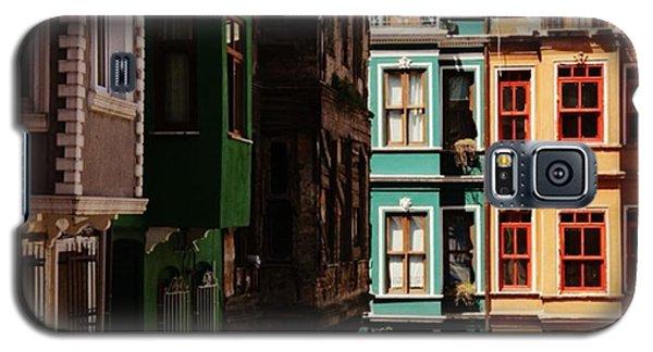 House Galaxy S5 Case - #balat #istanbul #eskibinalar #renkli by Ozan Goren