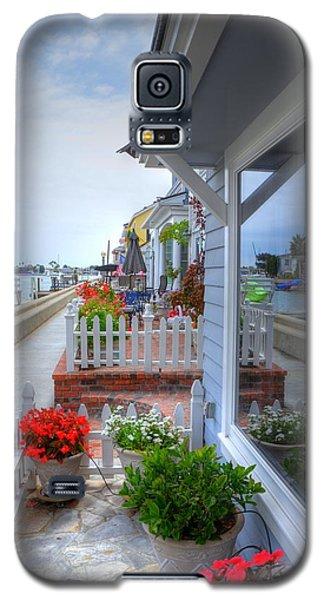 Balboa Island Beach House 2 Galaxy S5 Case