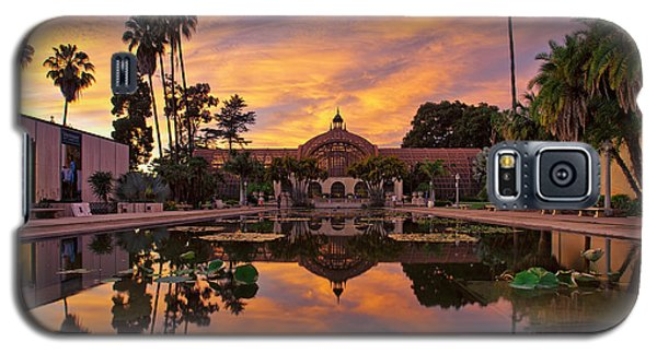 Balboa Park Botanical Building Sunset Galaxy S5 Case