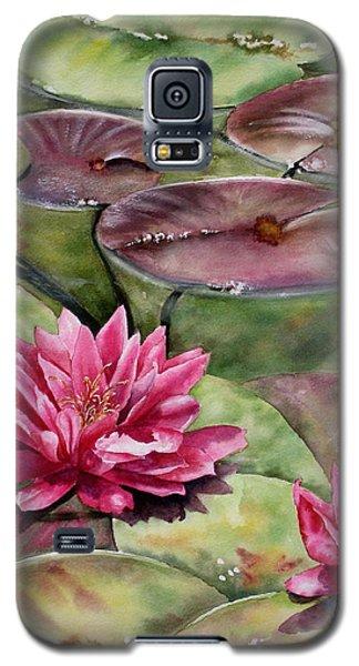 Balboa Water Lilies Galaxy S5 Case