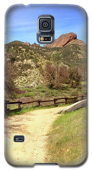 Galaxy S5 Case featuring the photograph Balconies Trail - Pinnacles National Park by Art Block Collections