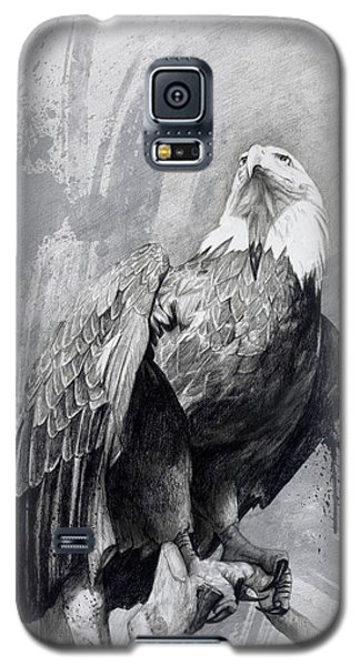 Bald Eagle Drawing Galaxy S5 Case