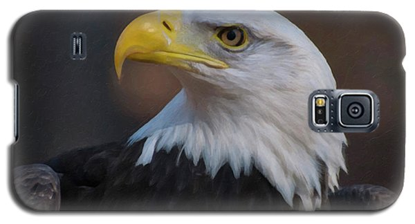 Bald Eagle Painting Galaxy S5 Case by Chris Flees