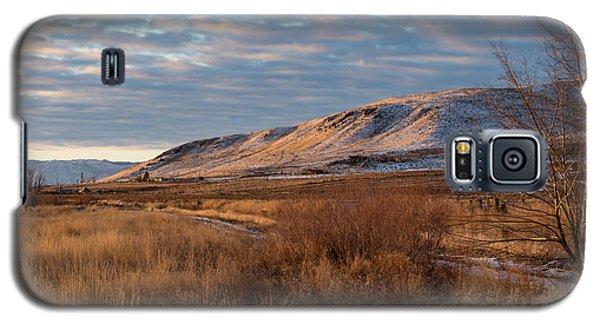 Bald Mountain At Dawn Galaxy S5 Case
