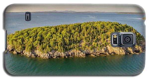 Bald Pocupine Island, Bar Harbor Galaxy S5 Case