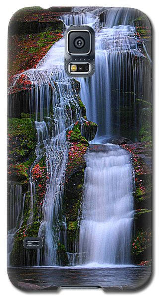 Bald River Falls Galaxy S5 Case by Elijah Knight
