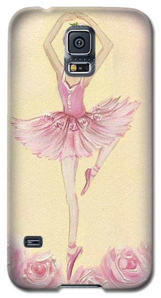 Ballerina Beauty Painting Galaxy S5 Case by Chris Hobel