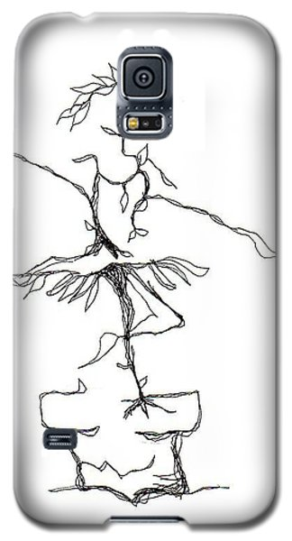 Ballerina- Cracked Pot Galaxy S5 Case