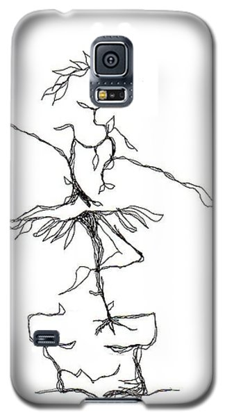 Ballerina- Cracked Pot Galaxy S5 Case