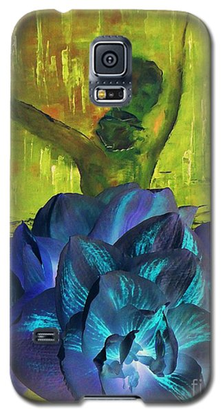Galaxy S5 Case featuring the photograph Ballerina Illusion by AmaS Art