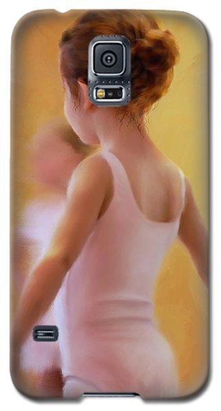 Ballerina In Pink Galaxy S5 Case