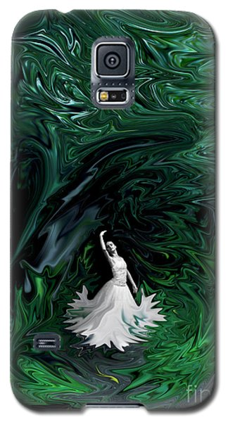 Galaxy S5 Case featuring the photograph Ballerina In Wonderland by Rebecca Margraf
