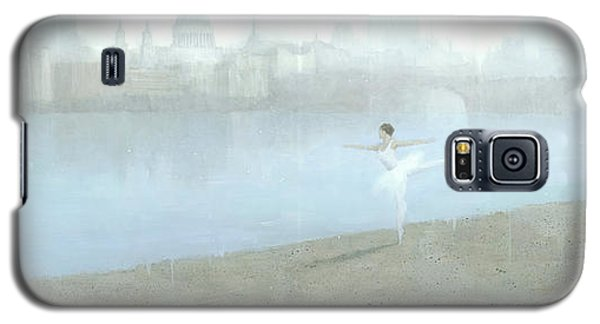 Ballerina On The Thames Galaxy S5 Case