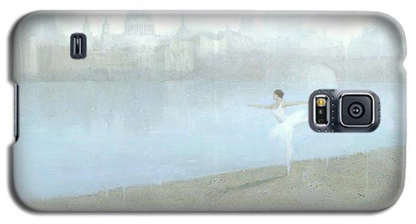 Ballerina On The Thames Galaxy S5 Case