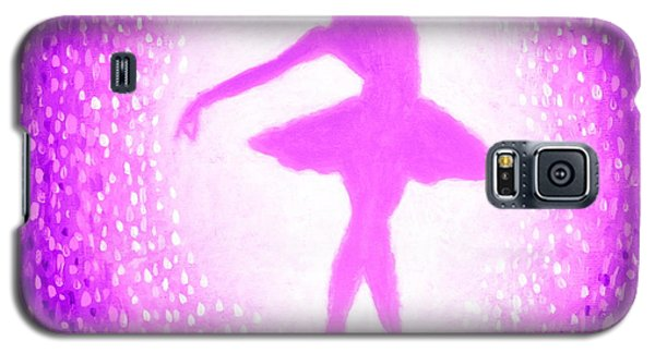 Ballerina Purple And Pink Galaxy S5 Case