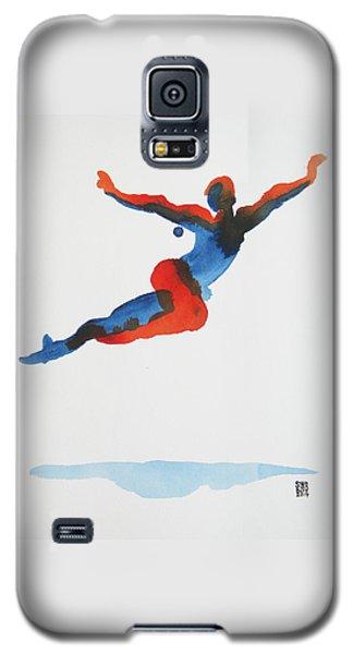Ballet Dancer 1 Flying Galaxy S5 Case by Shungaboy X