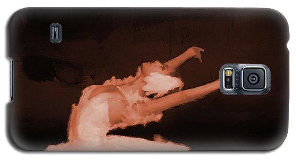 Ballet Dancer In White 01 Galaxy S5 Case