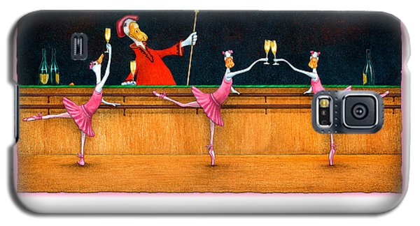 Galaxy S5 Case featuring the painting Ballet Up To The Barre... by Will Bullas