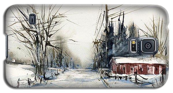 Ballina Road Galaxy S5 Case by Judith Levins