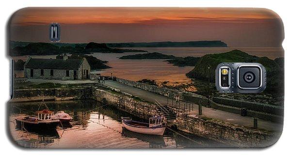 Ballintoy Harbour Sunset Galaxy S5 Case