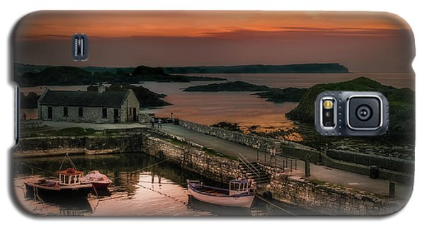 Ballintoy Harbour Sunset Galaxy S5 Case