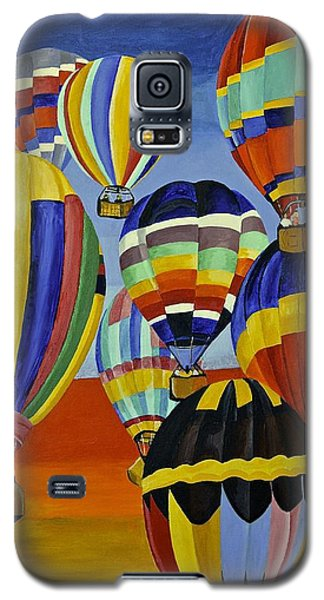 Balloon Expedition Galaxy S5 Case by Donna Blossom
