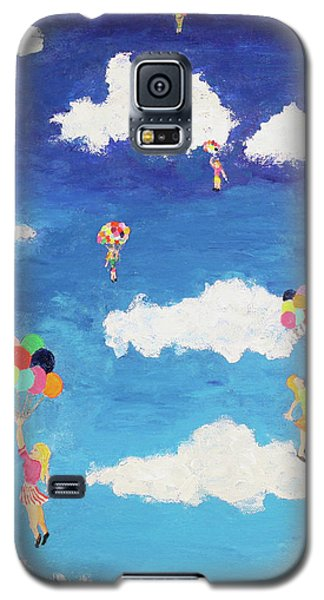 Balloon Girls Galaxy S5 Case