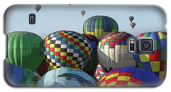 Balloon Traffic Jam Galaxy S5 Case by Marie Leslie