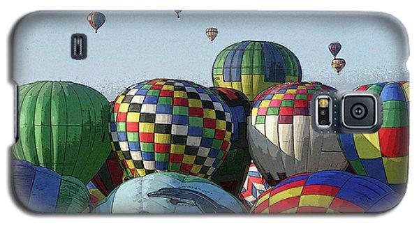 Balloon Traffic Jam Galaxy S5 Case