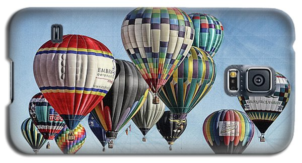 Galaxy S5 Case featuring the photograph Ballooning by Marie Leslie