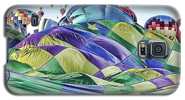 Galaxy S5 Case featuring the photograph Ballooning Waves by Marie Leslie