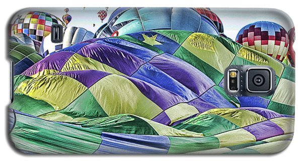 Ballooning Waves Galaxy S5 Case by Marie Leslie