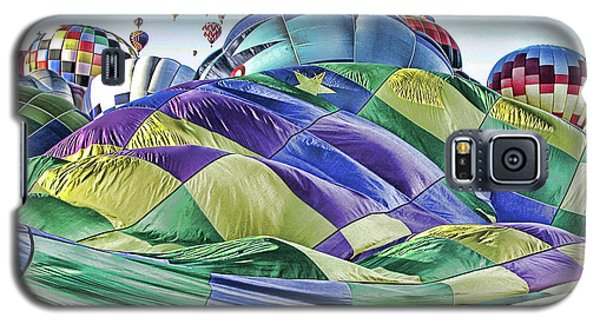 Ballooning Waves Galaxy S5 Case