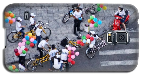 Balloons And Bikes Galaxy S5 Case