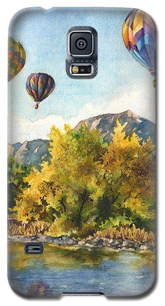 Balloons At Twin Lakes Galaxy S5 Case