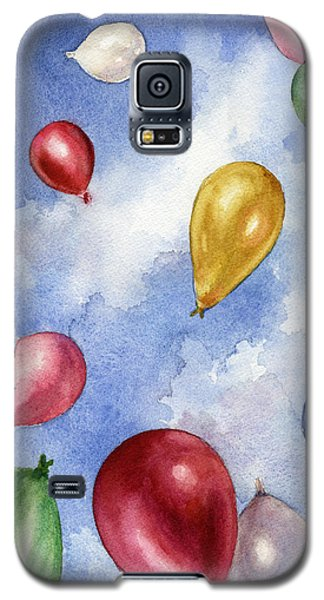 Balloons In Flight Galaxy S5 Case