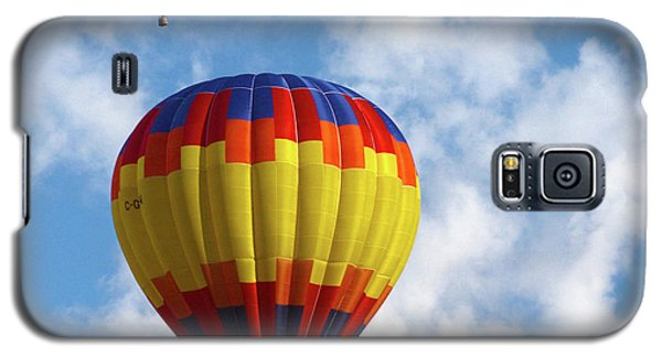 Galaxy S5 Case featuring the photograph Balloons In The Cloud by Marie Leslie