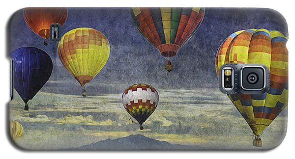 Balloons Over Sister Mountains Galaxy S5 Case