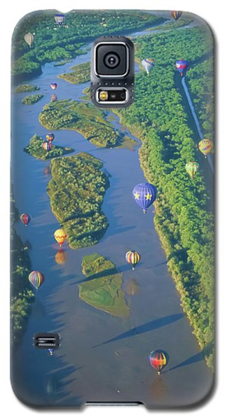 Balloons Over The Rio Grande Galaxy S5 Case