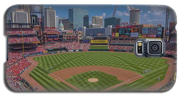 Ballpark Village Cardinal Nation Busch Stadum St. Louis Cardinals April 2015 #2 Galaxy S5 Case by David Haskett