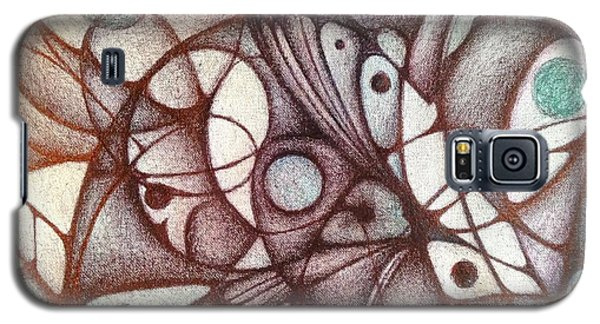 Ballpoint On Canvas  Galaxy S5 Case by Jack Dillhunt