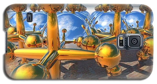 Balls And Jacks II Galaxy S5 Case by Lyle Hatch