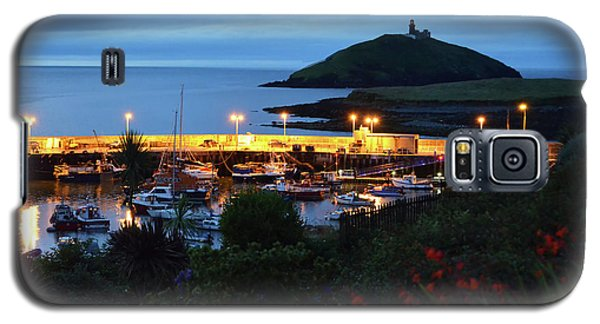 Ballycotton Ireland Marina Harbour And Lighthouse East County Cork Galaxy S5 Case by Shawn O'Brien