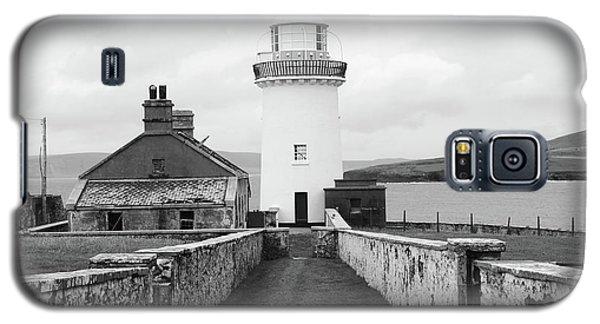 Ballyglass Lighthouse Mono Galaxy S5 Case