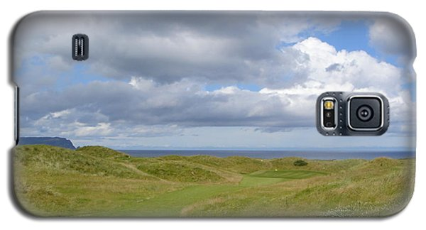 Ballyliffin Ireland Golf 1 Galaxy S5 Case by Jan Daniels